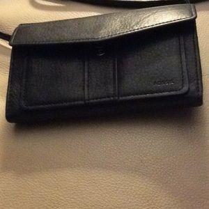 Fossil Crossbody Travel Wallet